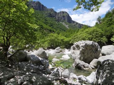 Landschaft in Epirus
