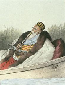 Gemälde Ali Pascha