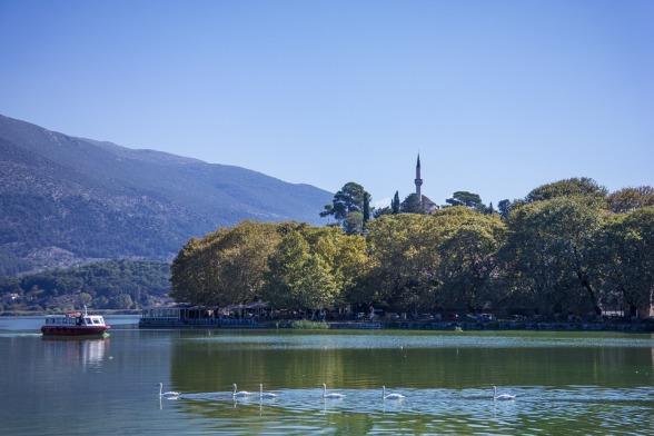 Ioannina und der Pamvodita-See
